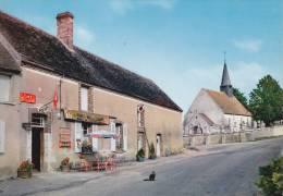 CPA 45  CONFLANS-sur-LOING ,le Centre. (restaurant) - Francia
