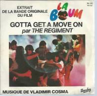 """45 Tours SP -  Du Film """" LA BOUM """" ( SOPHIE MARCEAU / CLAUDE BRASSEUR  ) THE REGIMENT - Soundtracks, Film Music"""