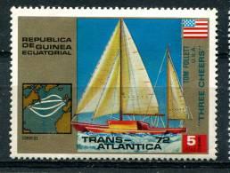 Guinée Equatoriale 1972 - YT 29 (o) - Voilier - Trans-Atlantique - Guinée Equatoriale
