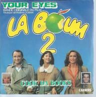 """45 Tours SP -  Du Film """" LA BOUM 2 """" ( SOPHIE MARCEAU / CLAUDE BRASSEUR / BRIGITTE FOSSEY  ) - Soundtracks, Film Music"""