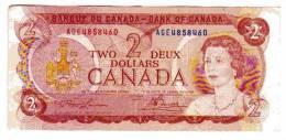 BILLET CANADA - P.86a - 1974 - 2 DOLLARS - ELIZABETH II - CHASSEURS INUIT - Canada