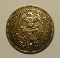 Etats - Unis USA 4 X 1 Dollar Silver Plated 1982 - 1984 (x2)- 1986 Commemorative UNC - Émissions Fédérales