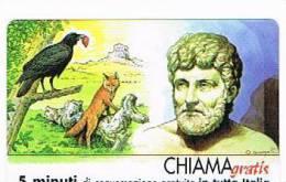 CHIAMAGRATIS - 120 PERSONAGGI PER IL PROGRESSO DELL' UMANITA'(13): ESOPO    - NUOVA  (RIF.CP) - Italy