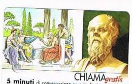 CHIAMAGRATIS - 120 PERSONAGGI PER IL PROGRESSO DELL' UMANITA'(19): SOCRATE    - NUOVA  (RIF.CP) - Italy