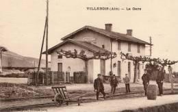 01 VILLEBOIS La Gare - France