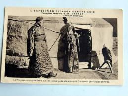 Carte Postale Ancienne : MONGOLIA : Ürümqi , OUROUMTSI Princesse Mongole Palta - Mongolie