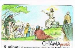 CHIAMAGRATIS - 120 PERSONAGGI PER IL PROGRESSO DELL' UMANITA'(30): GESU' CRISTO    - NUOVA  (RIF.CP) - Italy