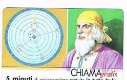CHIAMAGRATIS - 120 PERSONAGGI PER IL PROGRESSO DELL' UMANITA'(35): CLAUDIO TOLOMEO    - NUOVA  (RIF.CP) - Italy