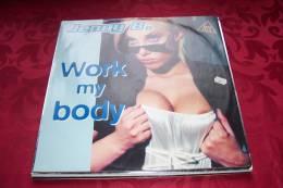 JENNY B  °  WORK MY BODY - 45 T - Maxi-Single