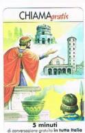 CHIAMAGRATIS - 120 PERSONAGGI PER IL PROGRESSO DELL' UMANITA'(37): TEODORICO I    - NUOVA  (RIF.CP) - Italy