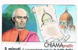 CHIAMAGRATIS - 120 PERSONAGGI PER IL PROGRESSO DELL' UMANITA'(49): FILIPPO BRUNELLESCHI      - NUOVA  (RIF.CP) - Italy