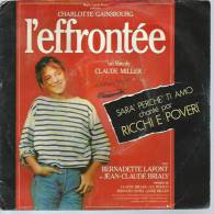 """45 Tours SP -  Du Film """" L'EFFRONTEE """" ( CHARLOTTE GAINSBOURG / BERNADETTE LAFONT ) - Soundtracks, Film Music"""