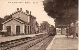 70 JUSSEY La Gare - Autres Communes