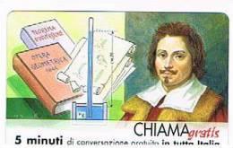 CHIAMAGRATIS - 120 PERSONAGGI PER IL PROGRESSO DELL' UMANITA'(67):  EVANGELISTA TORRICELLI      - NUOVA  (RIF.CP) - Italy