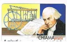 CHIAMAGRATIS - 120 PERSONAGGI PER IL PROGRESSO DELL' UMANITA'(77):  JAMES WATT      - NUOVA  (RIF.CP) - Italy