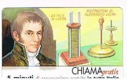 CHIAMAGRATIS - 120 PERSONAGGI PER IL PROGRESSO DELL' UMANITA'(79):  ALESSANDRO VOLTA      - NUOVA  (RIF.CP) - Italy