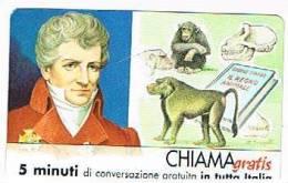 CHIAMAGRATIS - 120 PERSONAGGI PER IL PROGRESSO DELL' UMANITA'(81):  GEORGES CUVIER      - NUOVA  (RIF.CP) - Italy