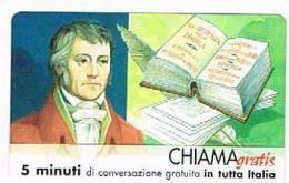 CHIAMAGRATIS - 120 PERSONAGGI PER IL PROGRESSO DELL' UMANITA'(84):  GEORG WILHELM FRIEDRICH HEGEL      - NUOVA  (RIF.CP) - Italy