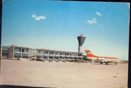 POSTCARD AIRPORT AIROPLANE OTOK KRK-AERODROM RIJEKA 1982. - Aerodrome