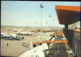 POSTCARD  AIROPLANES AIRPORT TOLEDO POSTCARD 1981 - Aerodrome