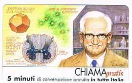 CHIAMAGRATIS - 120 PERSONAGGI PER IL PROGRESSO DELL' UMANITA'(114):  ALBERT BRUCE SABIN                - NUOVA  (RIF.CP) - Italy