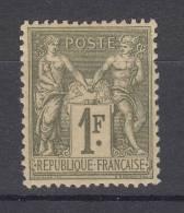 France N° 82  Neuf * - 1876-1898 Sage (Type II)