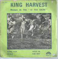 "45 Tours SP - Du Film "" LE FEU SACRE "" ( KING HARVEST ) - Filmmusik"