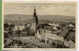 Komotau, A. H.-Platz!, Um 1940/1950 Verlag:Weko-Nr.56, FELD POSTKARTE,  Ohne Frankatur, Mit Stempel, 21.4.42 - Sudeten