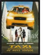 TAXI DE NOVA IORQUE ( NEW YORK ) - CINEMA - 2 Scans - Affiches Sur Carte