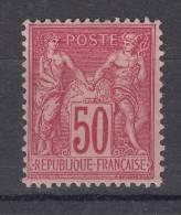 France N° 98  Neuf * - 1876-1898 Sage (Type II)