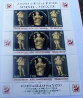 VATICANO 2013 - ANNO DELLA FEDE FULL SHEET MNH**, RAFFAELLO SANZIO - Ongebruikt