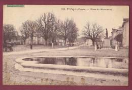 23 - 100313 - SAINTE FEYRE - Place Du Monument - - Other Municipalities