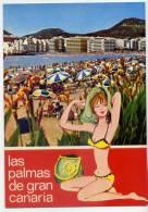 Espagne---LAS CANTERAS-- LAS PALMAS DE GRAN CANARIA ,cpsm 10 X 15  N°6253  éd  Islas--fantaisie - Gran Canaria