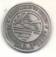 MUNICIPALIDAD DE QUILMES - FERNANDO D. GERONES INTENDENTE - Professionals / Firms