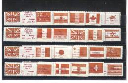 Collection De 20 Timbres émis Pour Les Grèves De 1971 - Great Britain