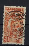 Saargebiet Michel No. 106 gestempelt used
