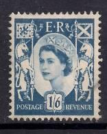 SCOTLAND GB 1967 QE2 1/-6d Grey Blue Used Wilding Stamp SG 6 ( K163 ) - Regional Issues