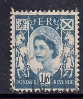 SCOTLAND GB 1967 QE2 1/-6d Grey Blue Used Wilding Stamp SG 6 ( K164 ) - Regional Issues