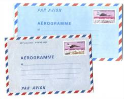 7 Entiers Neufs De 1976 à 1986 - 3 Scans - Postal Stamped Stationery