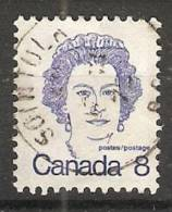 Canada  1972-77  Caricatures  (o) Queen Elizabeth II - 1952-.... Reign Of Elizabeth II