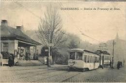 GODESBERG STATION DU TRAMWAY DE BONN TRAMWAY EN GROS PLAN - Bonn