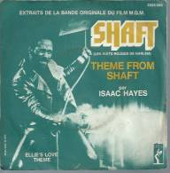 "45 Tours SP - Du Film "" LES NUITS ROUGES DE HARLEM "" ( ISAAC HAYES ) - Filmmusik"