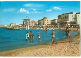 Italy, VISERBA DI RIMINI, Alberghi Direttamente Sul Mare, 1968 Used Postcard [13771] - Rimini