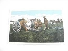 Manovre  Artiglieria Da Campagna Americana In Azione - Manovre