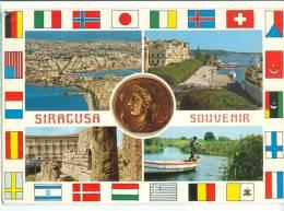 Italy, SIRACUSA SOUVENIR, Used Postcard [13773] - Siracusa