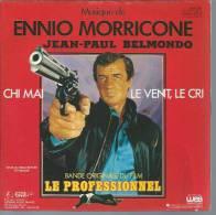 """45 Tours SP - Du Film """" LE PROFESSIONNEL """" ( JEAN-PAUL BELMONDO ) ENNIO MORRICONE - Filmmusik"""