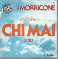 """45 Tours SP - Du Film """" LE PROFESSIONNEL """" ( JEAN-PAUL BELMONDO ) ENNIO MORRICONE - Música De Peliculas"""