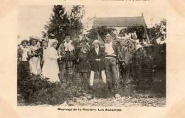 CPA Fête De La Montagne De Beaune Pentecote 3 Et 4 Juin 1906 Mariage - Les Autorités RARE - Beaune