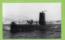 Sous-Marin, S 636 ARGONAUTE, Toulon Année 70? - Bateaux