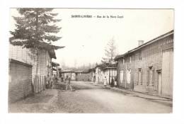 CPA : 52 - Haute Marne : Sainte Livière : Rue De La Mare Capé : Animation - Maisons ... - Eclaron Braucourt Sainte Liviere